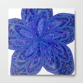 Starry Flower Metal Print