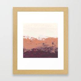 Desert Torte Framed Art Print