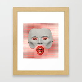 Faciem Eam Framed Art Print