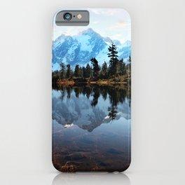 Mt Shuksan iPhone Case