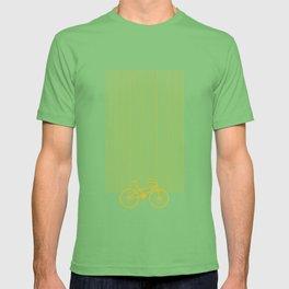 Yellow Bike by Friztin T-shirt