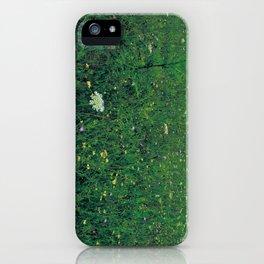 deep grassy iPhone Case