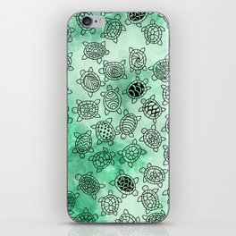 Turtle Patterns iPhone Skin