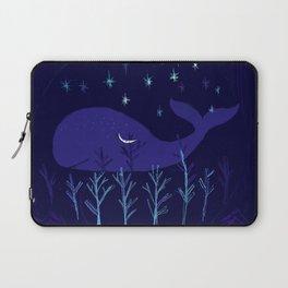 Whale Night Laptop Sleeve