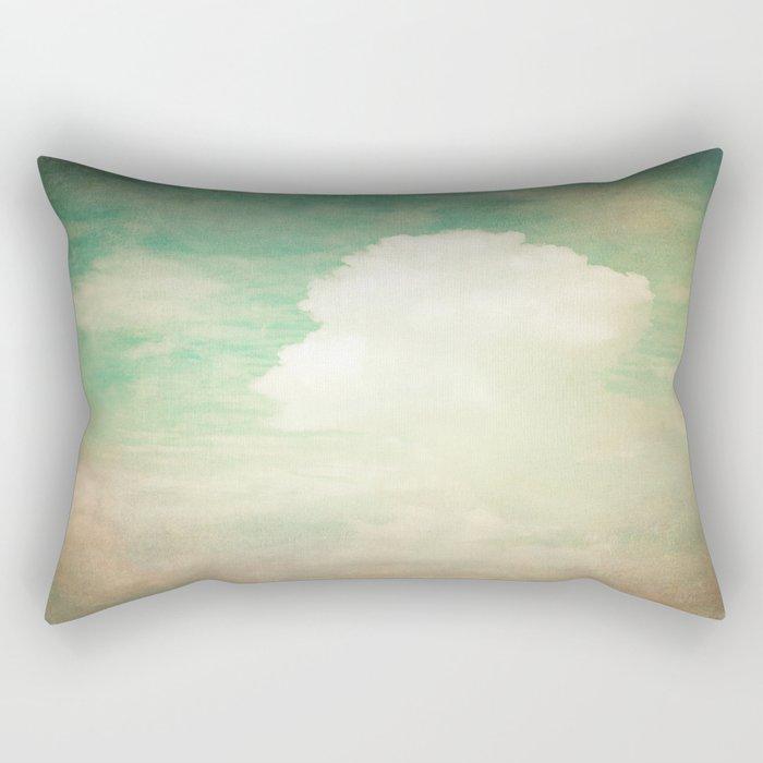 Faded Dreams Rectangular Pillow