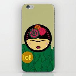 Kahlo-Lolita iPhone Skin