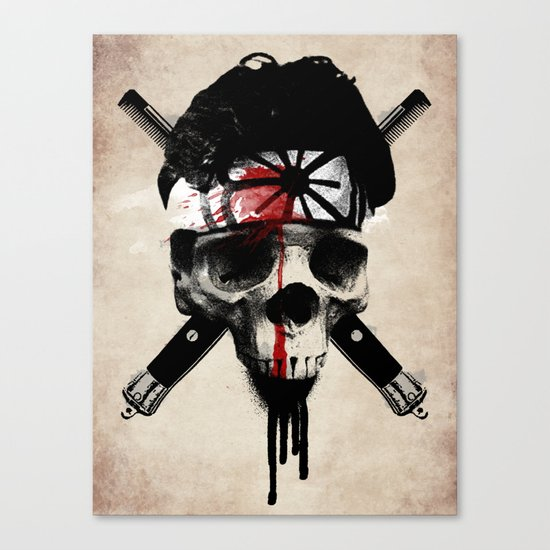 Death to LaRusso Canvas Print