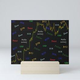 For trader Mini Art Print