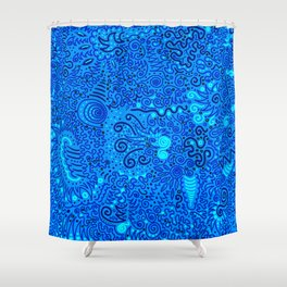 Jaw-dropper Shower Curtain