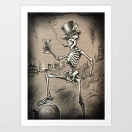 Mr Lucky Art Print