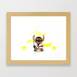 Stitch Bonifacio Framed Art Print