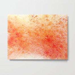 blend orange Metal Print