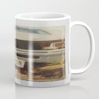 ford Mugs featuring Ford by Michael Shepherd
