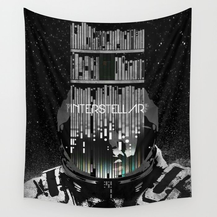 Interstellar Wall Tapestry