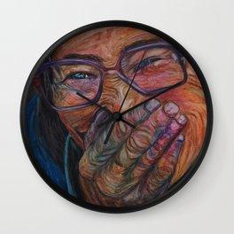 Simple joy Wall Clock