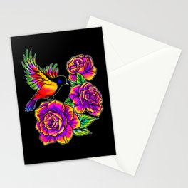 Birds in Paradise Inverted Stationery Cards