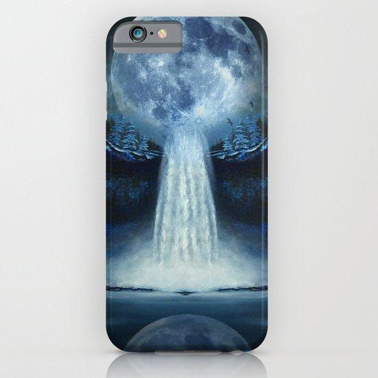 waterfall moon iPhone & iPod Case