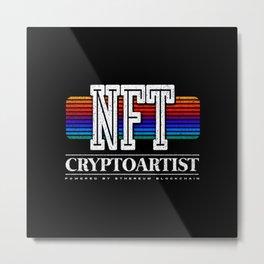 NFT CryptoArtist Metal Print