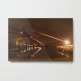 Braga Bridge Metal Print