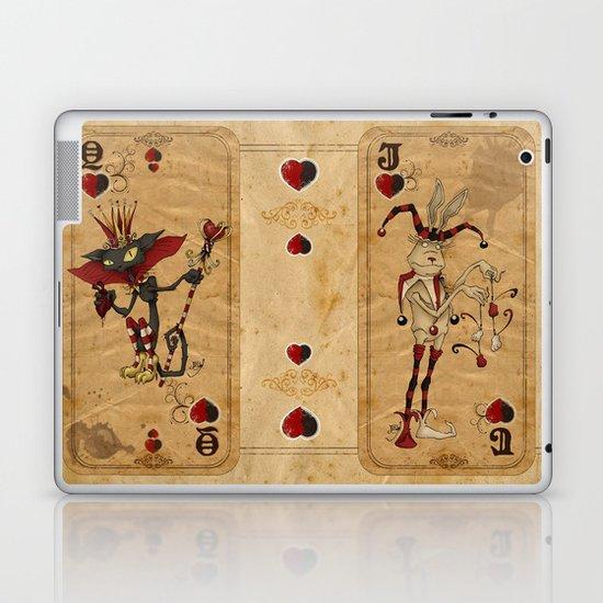 Oddity Playcards - Joker & Queen Laptop & iPad Skin
