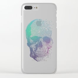 Melodic Skull Clear iPhone Case