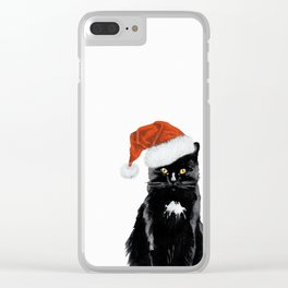 Cute Christmas Clear iPhone Case