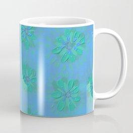 Cerulean Petal Rose Coffee Mug
