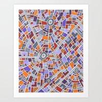 District Z3015 Art Print