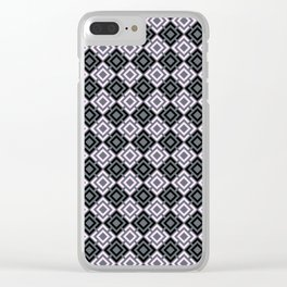 Geometric pattern , Margo Clear iPhone Case
