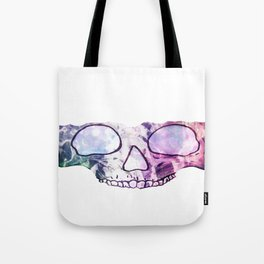TechnoColor Skully Tote Bag