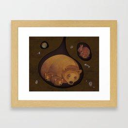 Cosy Framed Art Print