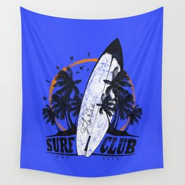 Summer Time - Surf Club Wall Tapestry