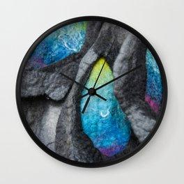alien felt Wall Clock