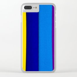 Crepe paper Clear iPhone Case