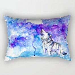 Wolf Song Rectangular Pillow