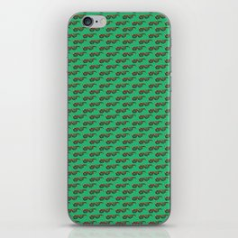 Green Pattern iPhone Skin