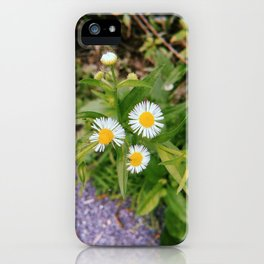 Three Little Flowers iPhone Case