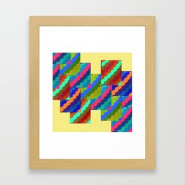 Aztec Eyes Framed Art Print