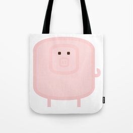 Iconic Animals of the FARM: the pig Tote Bag