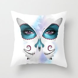 Saphire Throw Pillow
