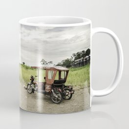 Passing time by the Amazon. Coffee Mug