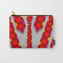 Circles Tie Carry-All Pouch