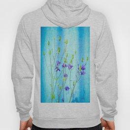 Dark Blue Delphinium Soft Oil Style Hoody