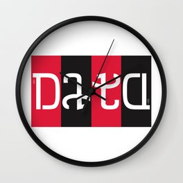 """data"" Wall Clock"
