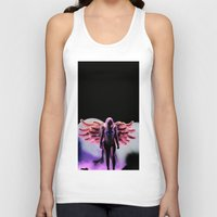 artrave Tank Tops featuring LG - artRAVE by Illuminany