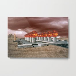 Mortuary Station Number One Metal Print