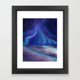 Between Sets Framed Art Print