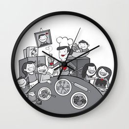 Chaotic Love Wall Clock