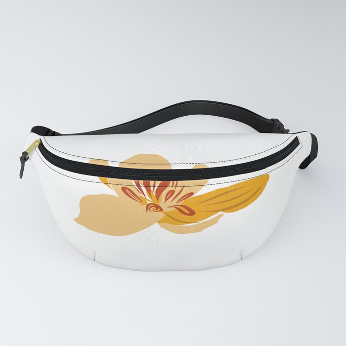 A lonely spring flower Fanny Pack