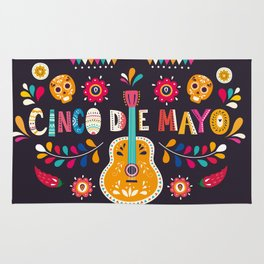 Cinco de Mayo – Guitar Rug